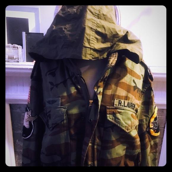 7dca58551dbf0 Ralph Lauren Jackets & Coats | Sold Mens Camo Hooded Jacket | Poshmark